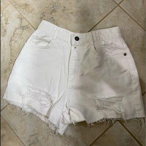 Vintage Lee jean shorts!!!